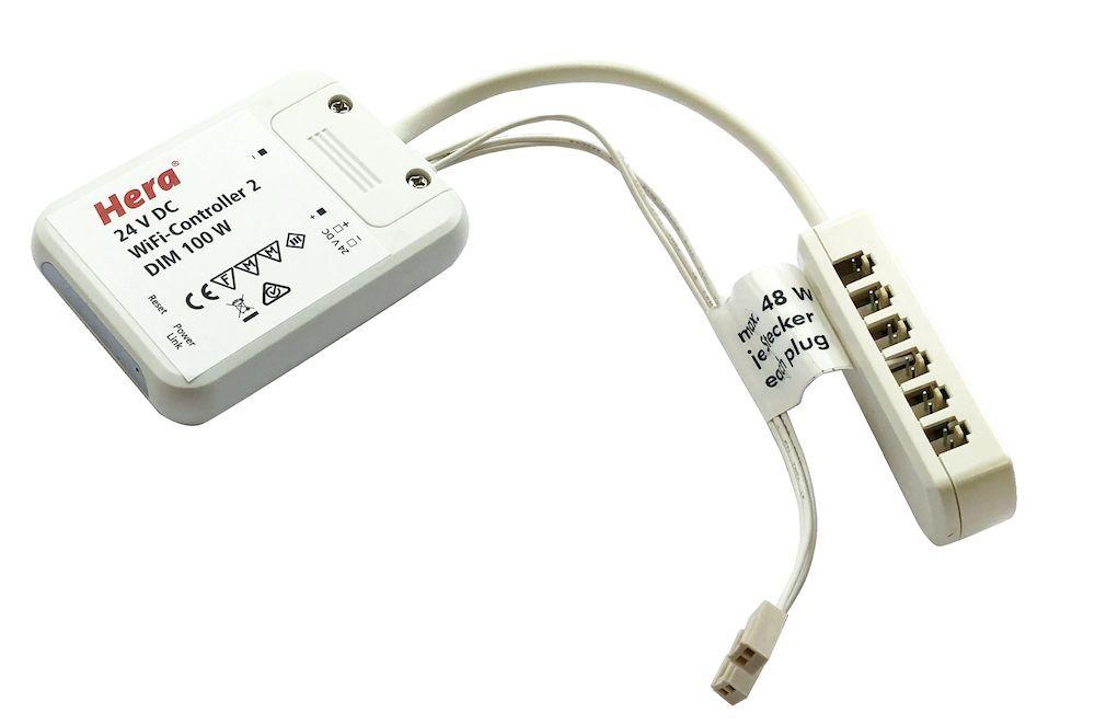 24 v wifi dynamic led trafokleurdimcontroller hera