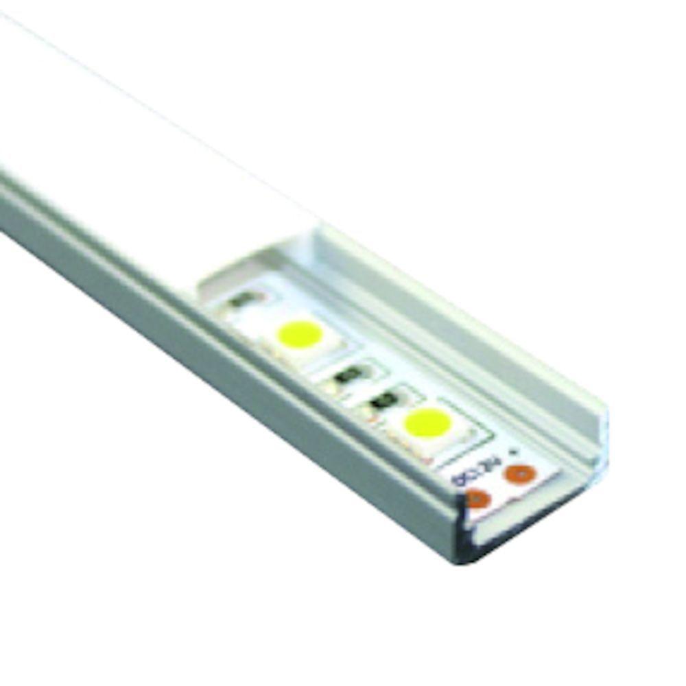 aluminium op onderbouw profiel ledline rol