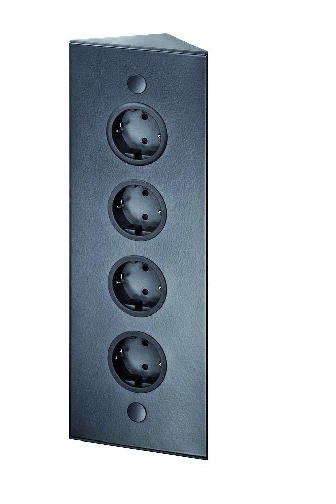 energiehoekzuil 4st 320 stopcontact