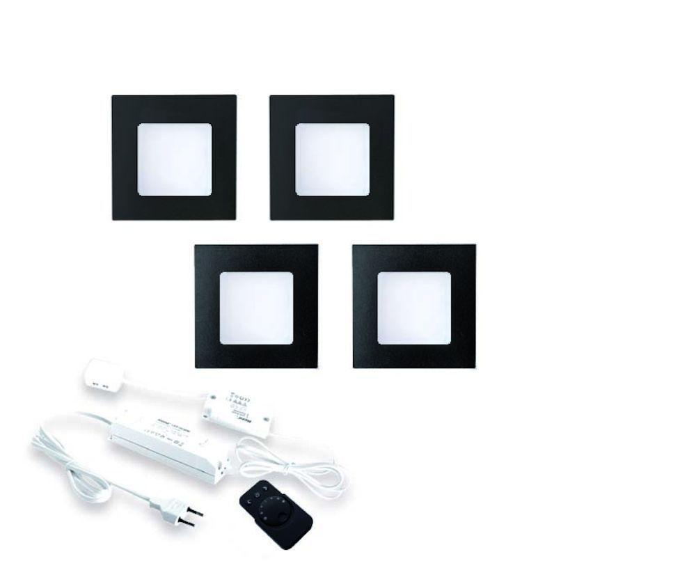 fq68 led sets met dimmer zwart 24 v hera