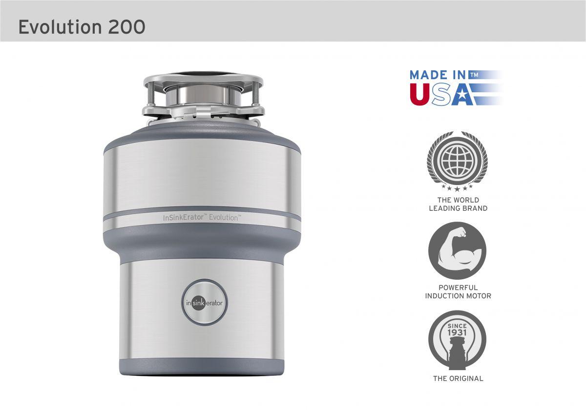 insinkerator 200 evolution
