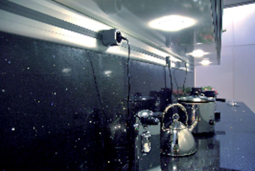 kitchentrack aluminium power profiel