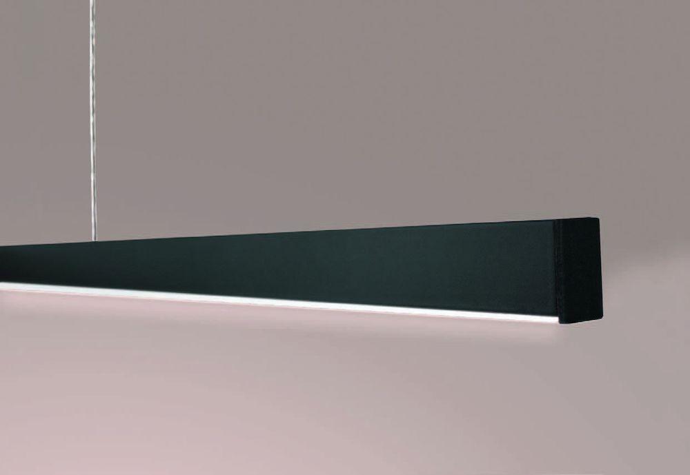 pendel led lamp zwart