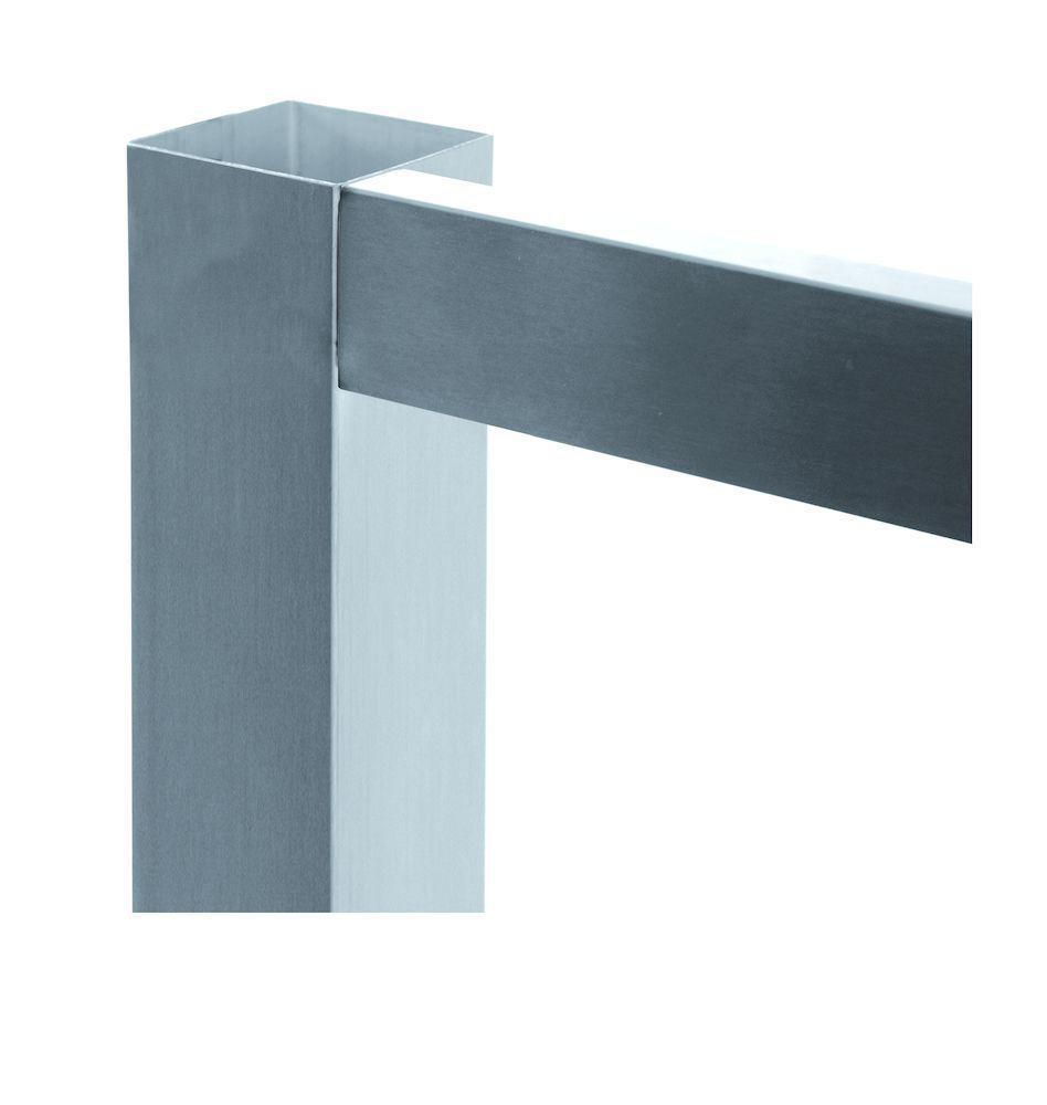RVS Tafelonderstellen - 60 x 60 mm | Doeco, Thuis in iedere keuken